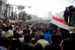 Scene from 29 January. Photo: 3arabawy.