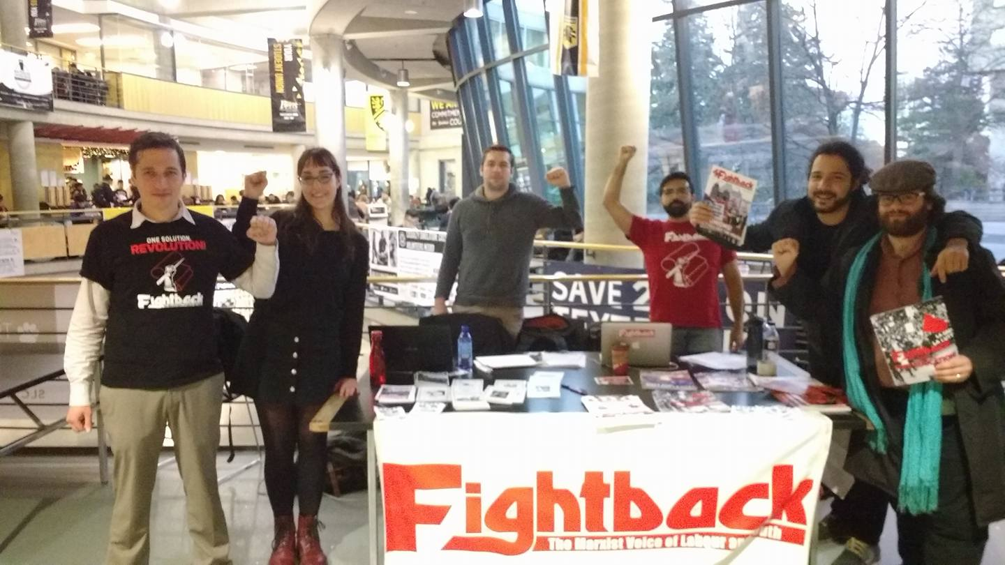 Fightback at McMasters University