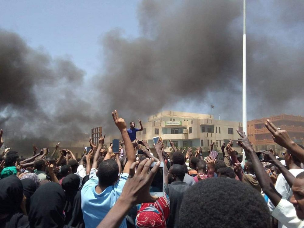 Sudanese people in revolutionary conditions