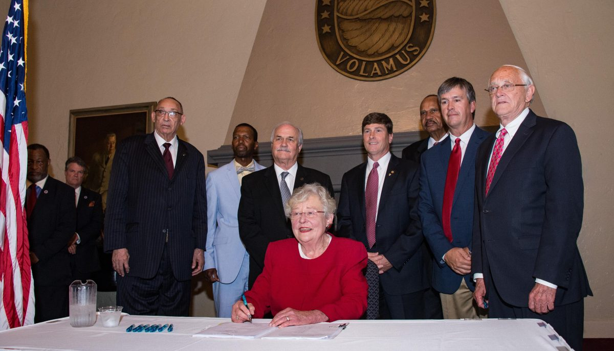Governor Ivey signing barbaric attack on women's rights into law