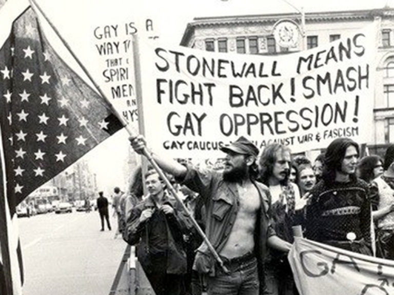 Stonewall riot pic