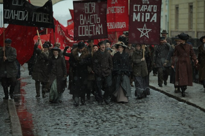 When watching Putin's Trotsky, we are never very far away from the dark world of antisemitism. The revolution itself is basically portrayed as a 'Jewish plot' / Image: fair use