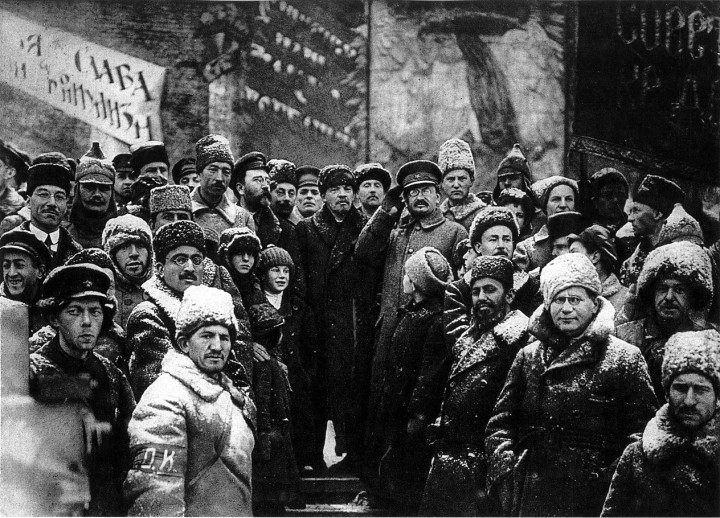 In spite of the series' slanders, what occurred in October 1917 was not a coup (as the old, bourgeois lie goes) but the greatest popular revolution in history / Image: public domain