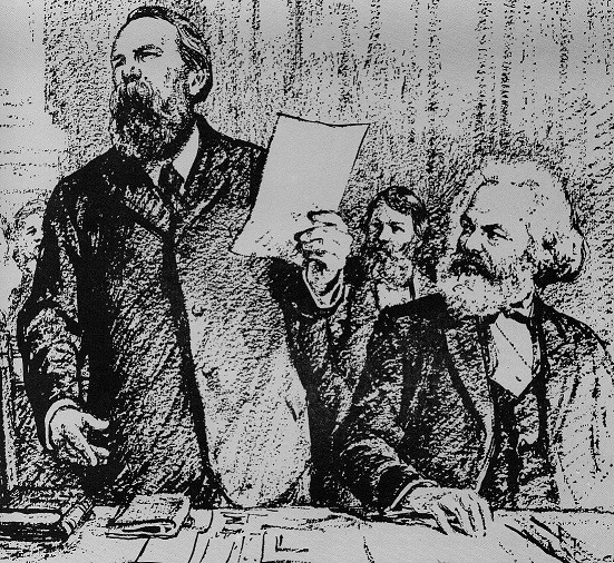 The policies of Marx and the First International had nothing in common with the provincialism of the current union tops / Image: public domain