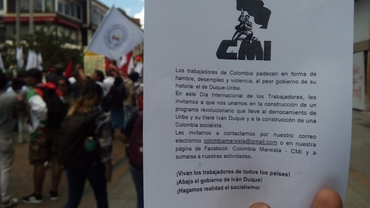 Colombia may day