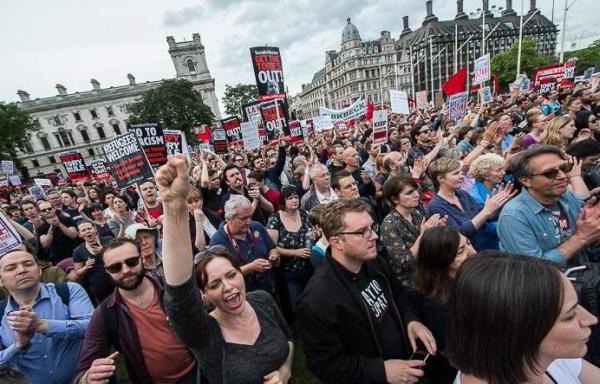 Corbyn Rally for Refugees