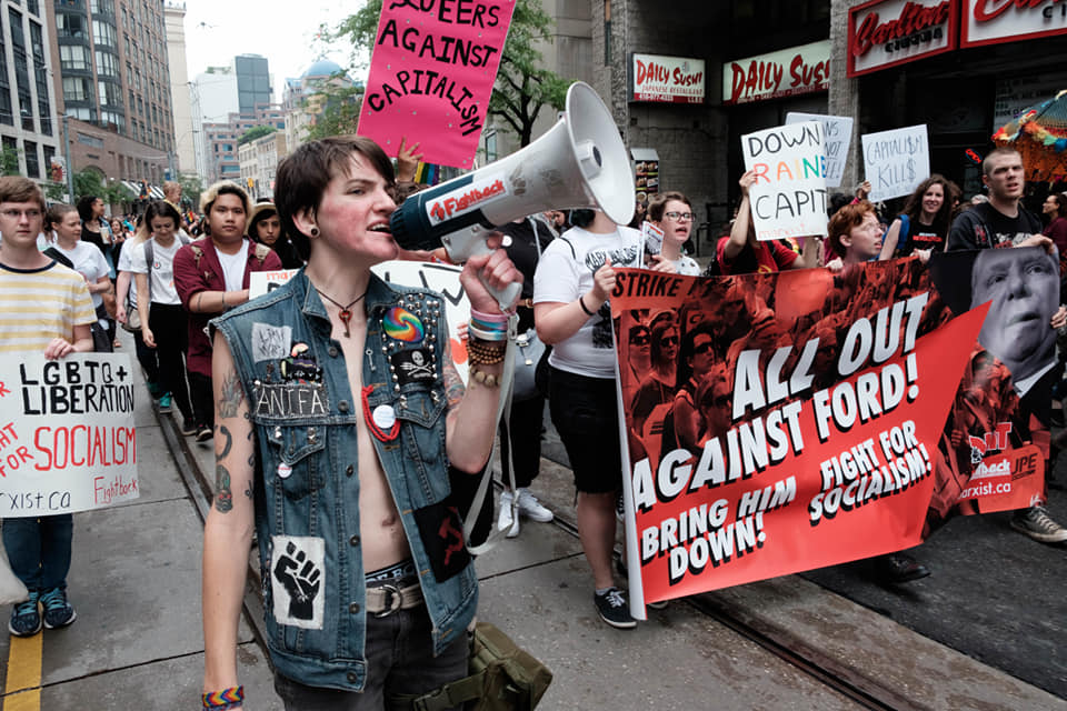 Fightback At The Trans March