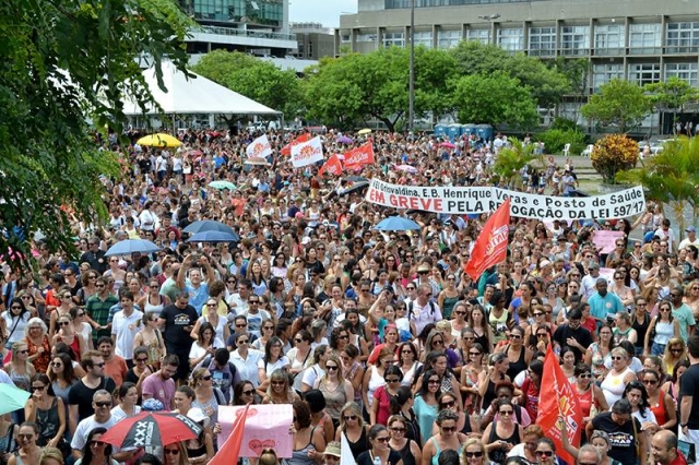 Florianopolis Struggle 2 Esquerda Marxista