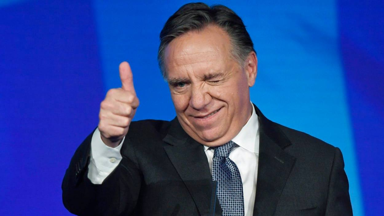 Francois Legault (Photo Credit: PAUL CHIASSON / THE CANADIAN PRESS)