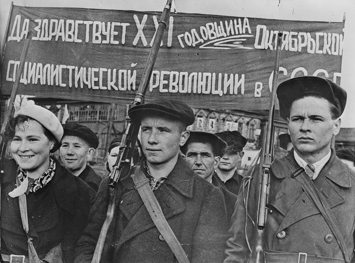 Ussr Day of the October Revolution 1938 Public Domain