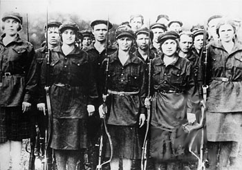 Women of the Red Army Public Domain