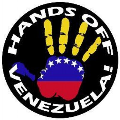 Hands off venezuela logo