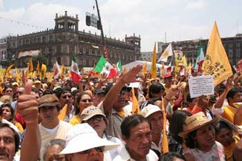 Mexico: mass protest against electoral fraud acquires insurrectionary proportions