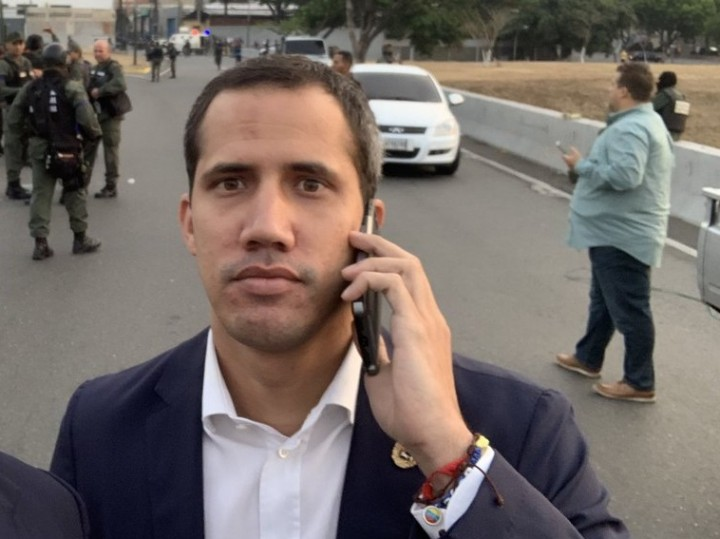 Guaidó is on the run, Lopez is hiding in the Chilean embassy, and 25 defector soldiers are seeking asylum in the Brazilian embassy. This shambolic coup has gone down to defeat / Image: fair use