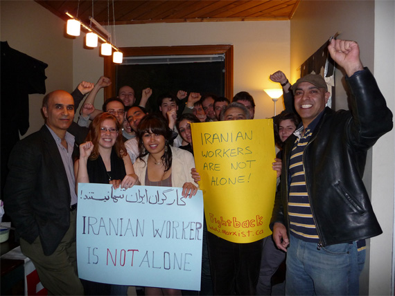 Defending Workers of Iran in Canada!