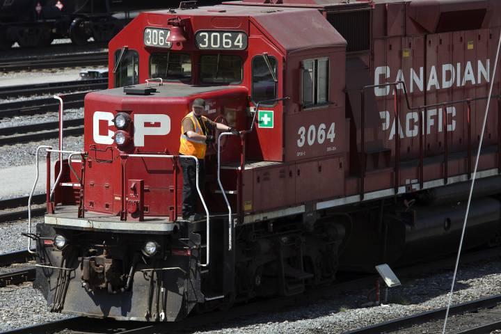 CP Operator on train