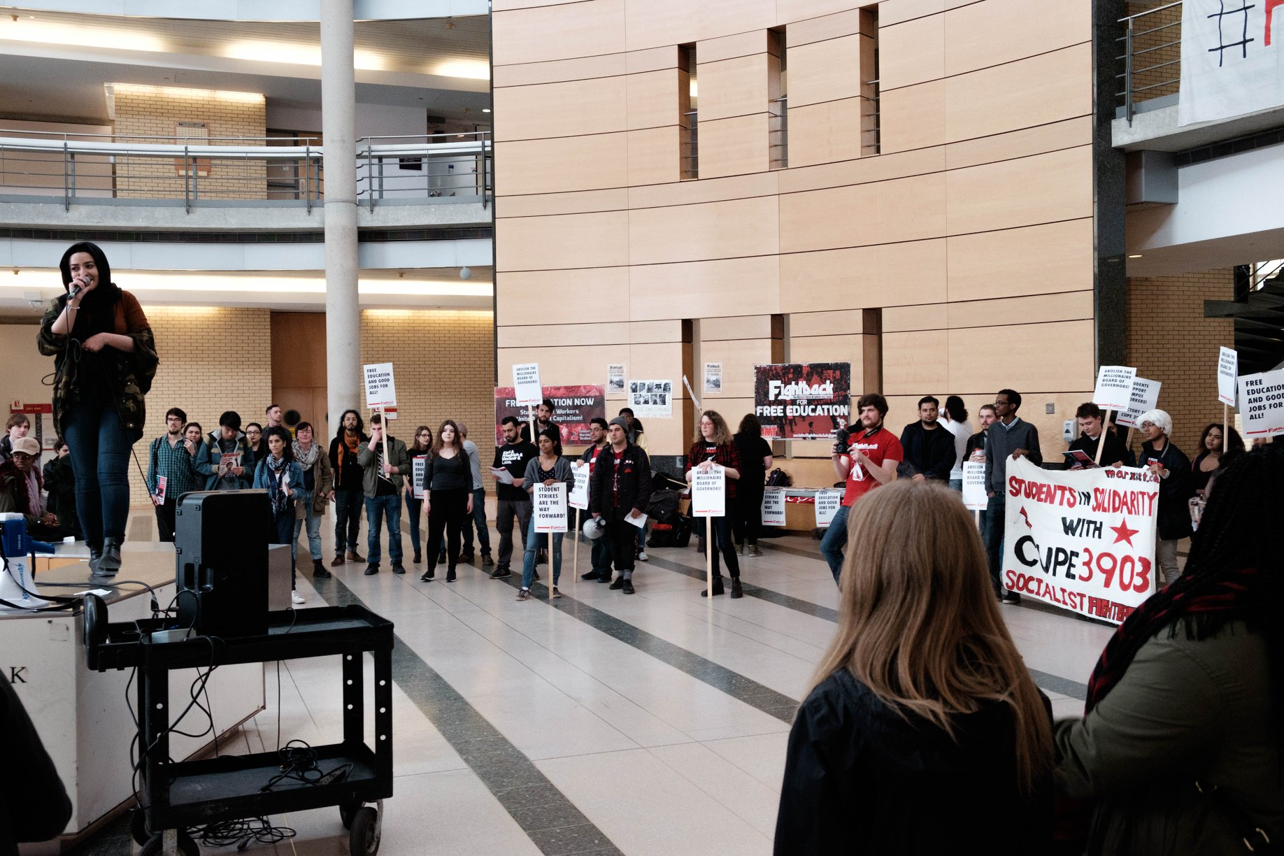 Movement against sexual violence erupts at McGill