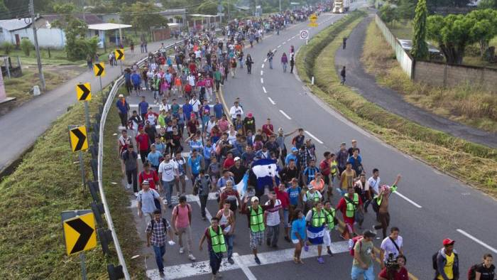 Internationalist solidarity with Central American migrant caravan