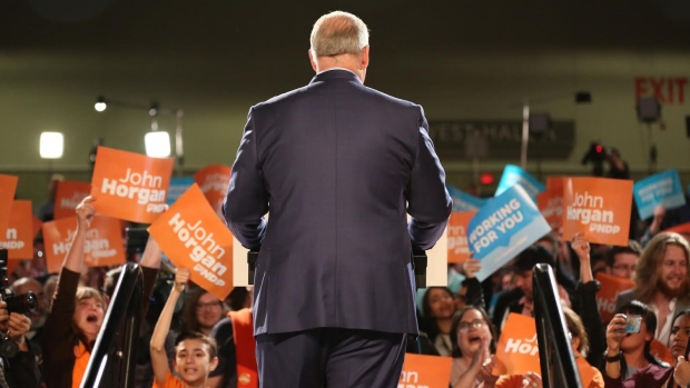 john horgan rally