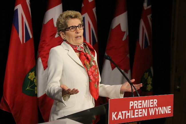 kathleen wynne cares not