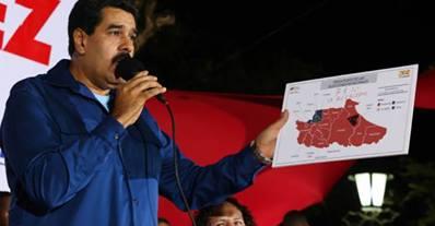 Maduro 2013 Municipal Elections