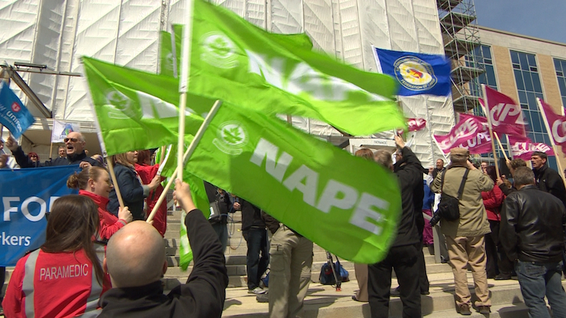 nape protests in newfoundland