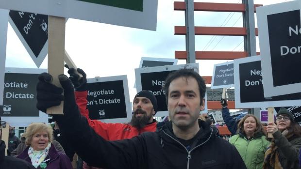nova scotia teachers union protest