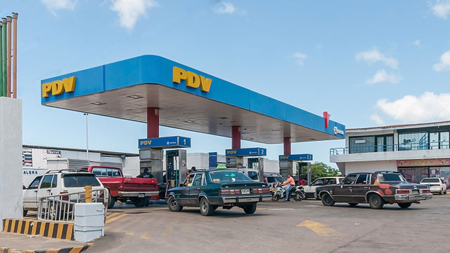 PDV Gas Station Public Domain