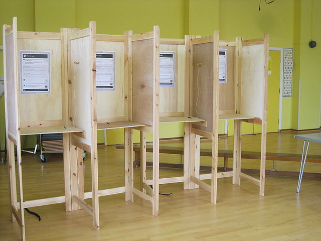 polling booth 2016