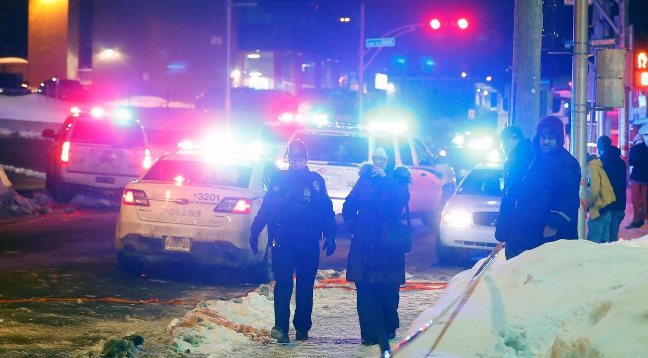 quebec police respond terrorist shooting mosque