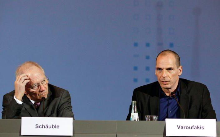 schauble varoufakis