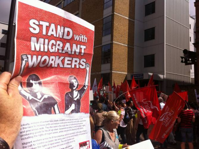 Stand with Migrant Workers