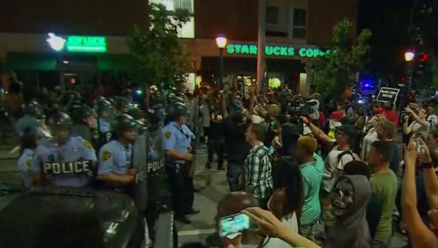 stlouis police riots