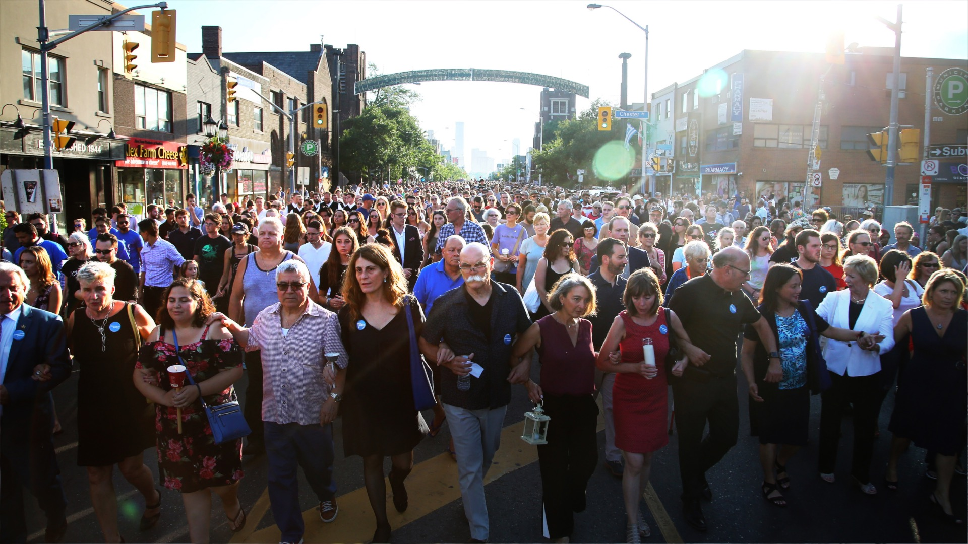 Vigil for Danforth shooting victims (The Globe And Mail)