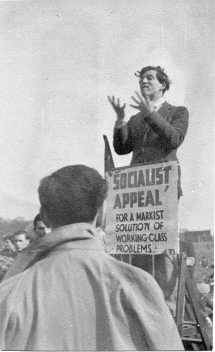 Ted Grant at Speakers' Corner, 1942 / Image: Ted Grant Archive
