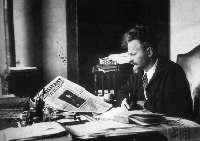 The history of our tendency can be traced back directly to the great work of Leon Trotsky's Left Opposition in the 1920s, and even further to the Third International under Lenin and Trotsky / Image: public domain