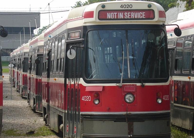 ttc streetcar no service