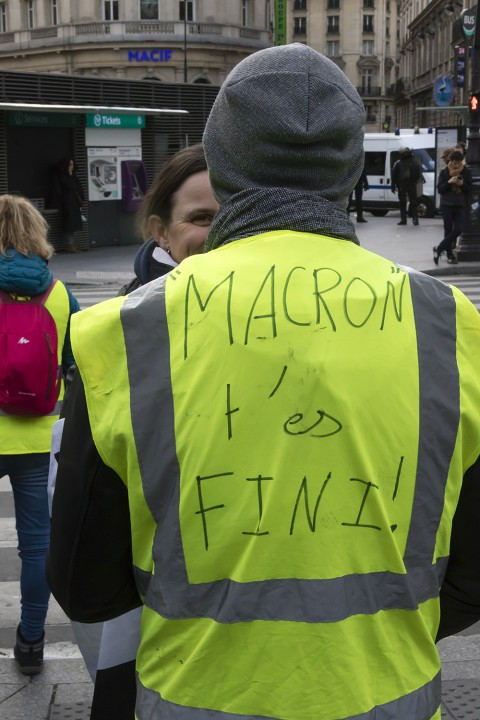 Over the past several weeks, the dominant, anti-rich political orientation of the yellow vests has become increasingly clear, and they have shifted to the left / Image: Flickr, Jacques BILLAUDEL